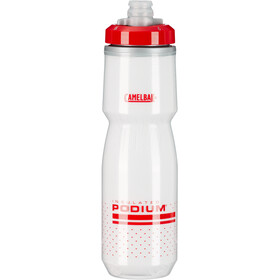 CamelBak Podium Chill Bidón 710ml, fiery red/white